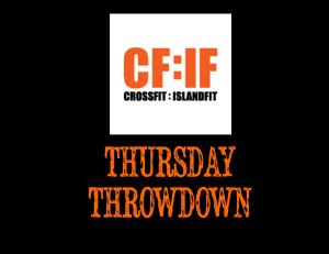 THURSDAYTHROWDOWN