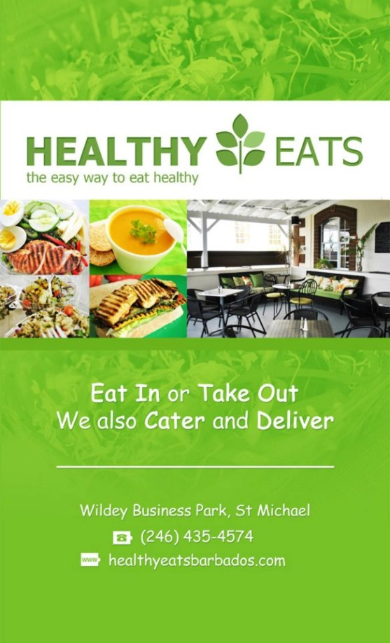 Healthy Eats Banner Flyer